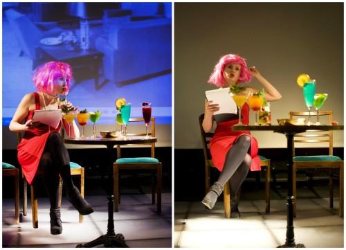 """Martyna Witowska w spektaklu """"Cocktail Party"""" (reż. Katarzyna Pergoł) w Teatrze Na Wagę (2013)"""